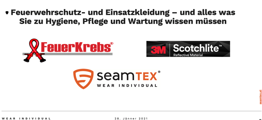webinar seamTEX